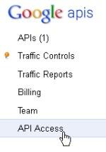 API key Google