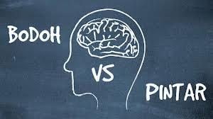 orang bodo vs orang pintar